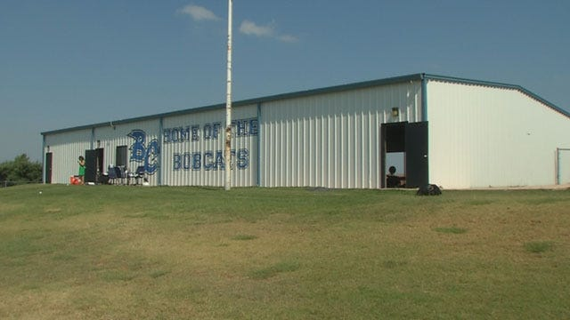 Deputies Search For Suspects After Bridge Creek Field House Vandalized