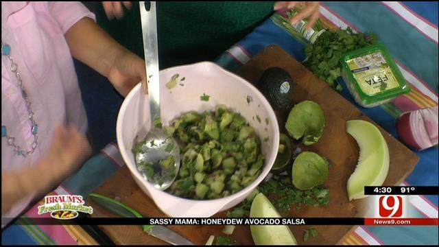 Honeydew Avocado Salsa
