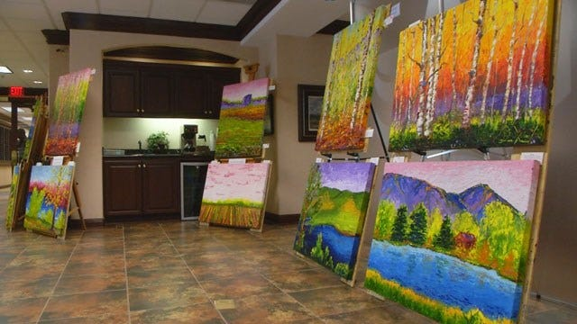 OK Man Sets Out To Paint 50 Landscapes In 50 States In 50 Days