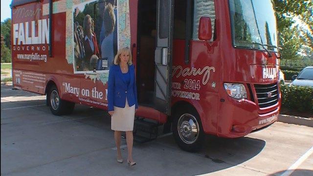 Gov. Fallin Kicks Off 'Mary On The Move' Campaign