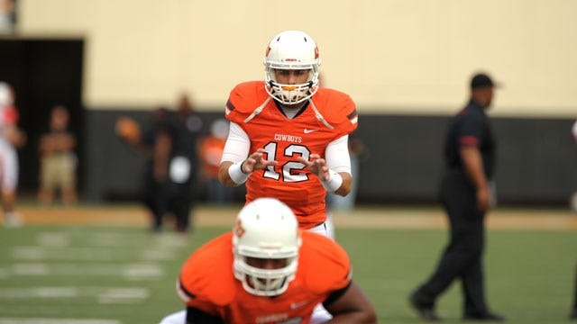 OSU Football Notebook: Gundy Expects To Use Two QBs In Opener