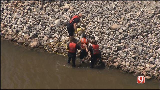 Crews Called Out To Water Rescue On Oklahoma River