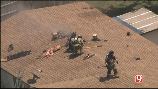 Crews Put Out House Fire In Yukon