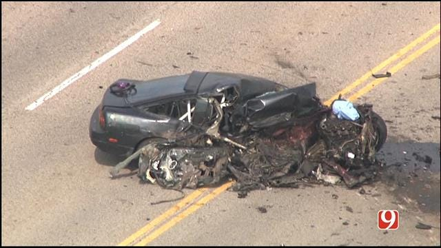 Driver Escapes Major Accident In SW OKC With Broken Ankle