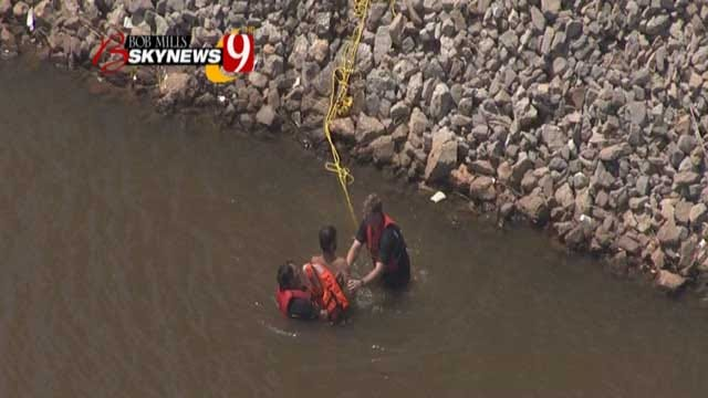 Man Rescued After Getting Into The Oklahoma River