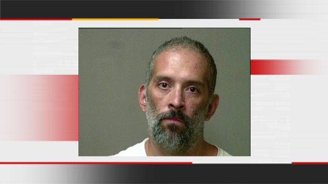OKC Man Arrested For Beating Wife In Front Of Children