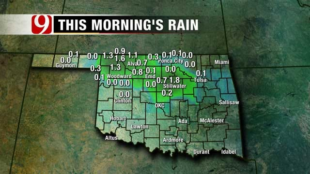 Showers, Storms Possible Friday Afternoon Across Northern OK