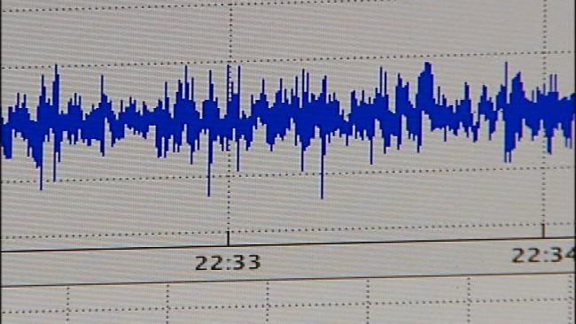 Small Earthquake Recorded Near Guthrie