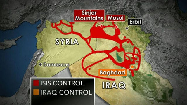 U.S. Launches First Strike Against ISIS Militants