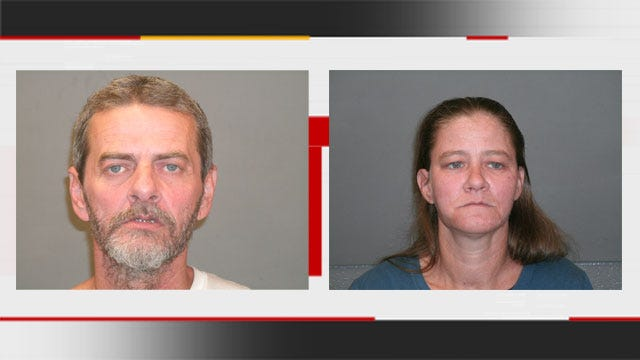 Couple Arrested For Stealing From Edmond Graves