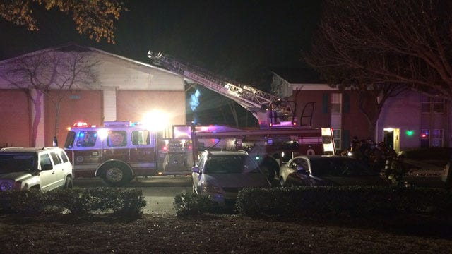 Three Jump From Second Story During Fire In SW OKC