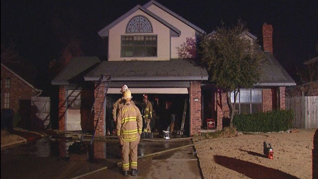 Family Escapes Early Morning House Fire In SW OKC