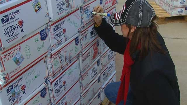 The Hugs Project In OKC Sends Thousands of Care Packages To Troops