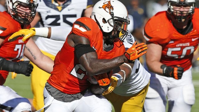 BREAKING: Oklahoma State Dismisses Hill From Football And Track Teams