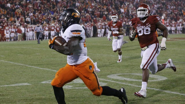 OSU's Tyreek Hill Arrested On Domestic Abuse Complaint