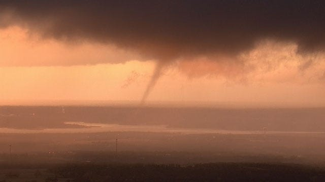 Two Tornadoes Confirmed After Severe Storms Strafe Across Oklahoma