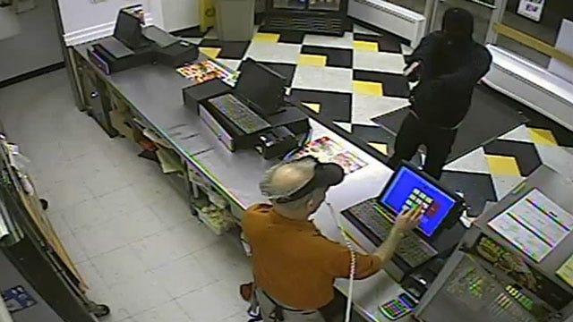 Caught On Camera: Masked Suspect Robs OKC Restaurant At Gunpoint