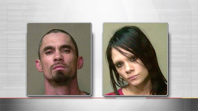 Two Arrested For Possession Of Stolen Car, Drugs After OKC Traffic Stop