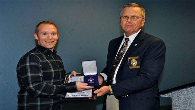 Wounded OKC Officers Honored For Bravery During Plaza Inn Gun Battle