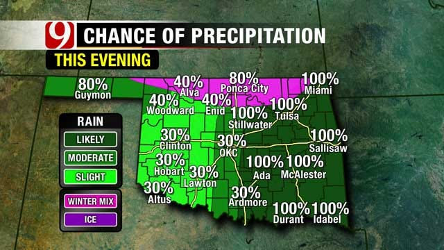 The Trend Of Active Weather Continues For Oklahoma