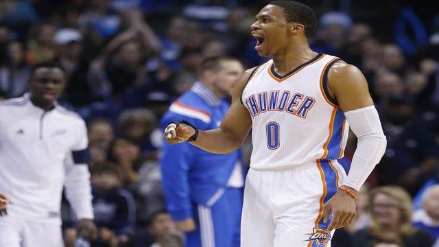 Thunder Blasts Kings, Runs Win Streak To Seven