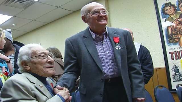 Two Oklahoma World World II Veterans Receive Honors
