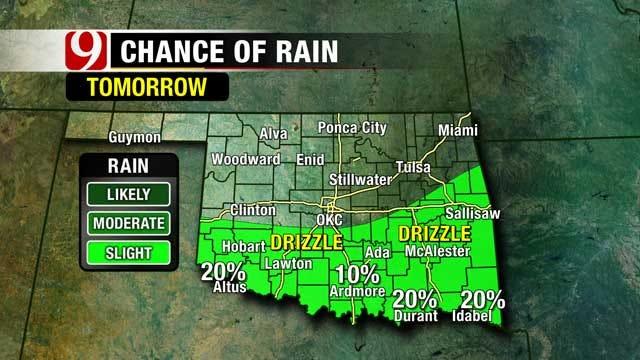 Gloomy Conditions To Stick Around For Oklahoma