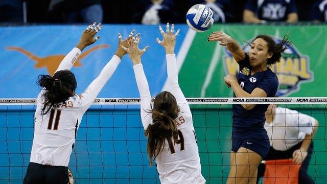 NCAA Volleyball: BYU Upsets Texas, Continues Surprising Run