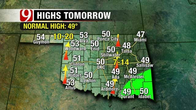 Cloudy Skies To Stay In Oklahoma