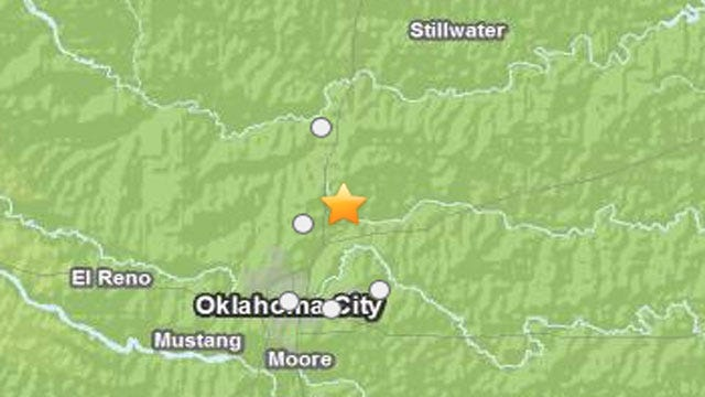 Early Morning Earthquake Shakes OKC Metro Residents Awake