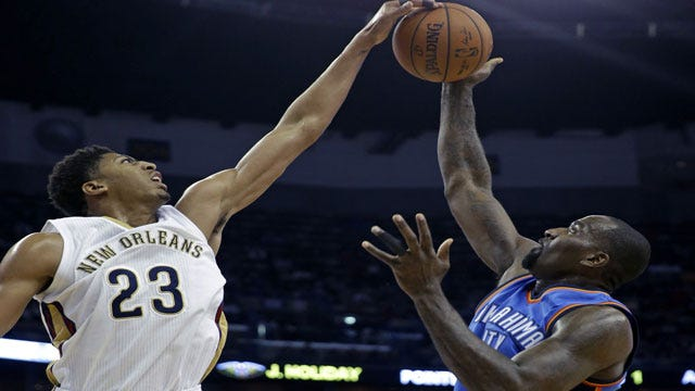 Many Unhappy Returns: KD Comes Back But Thunder Falls To Pelicans