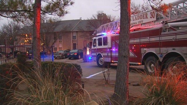 Fire Damages Northwest Oklahoma City Apartment Complex