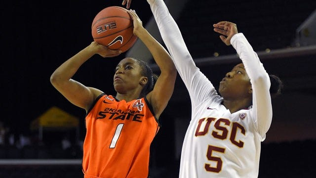 OSU Women Rally For Win At USC