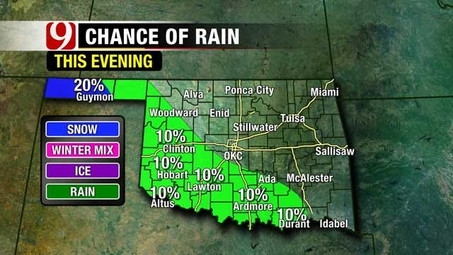 Cold Front Bringing Winter-Like Temps Back To Oklahoma