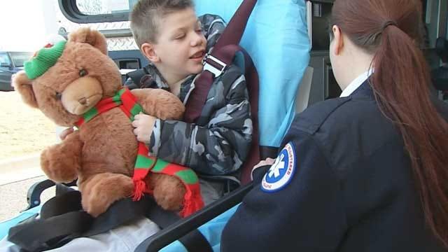 EMSA Paramedics Take Boy On Christmas Trip Of A Lifetime