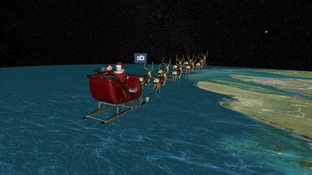 Battle Of The Santa Trackers