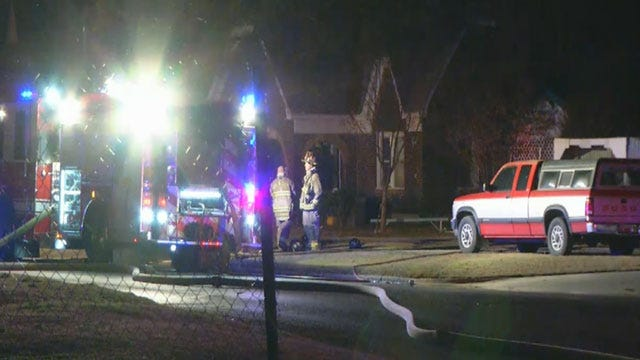 Family Of Four Escapes SW OKC House Fire