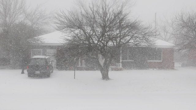 Five Years Later: Remembering Oklahoma's Christmas Eve Blizzard Of 2009