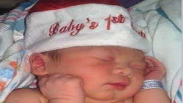 Baby Born At Midnight Christmas Day In OKC