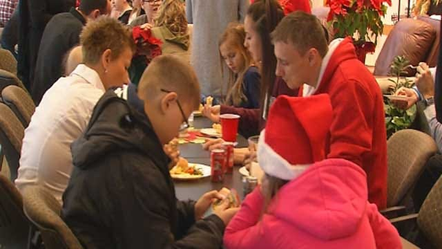 Procure Child Cancer Patients Away From Home Celebrate Christmas
