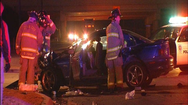 Emergency Crews Respond To Two Wrecks In Oklahoma City