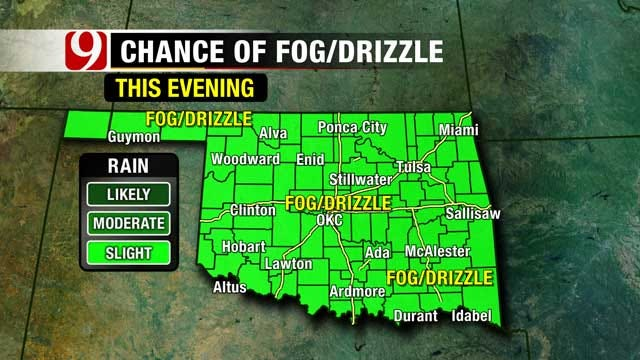 Gloomy, Wet Weather Remains In Oklahoma