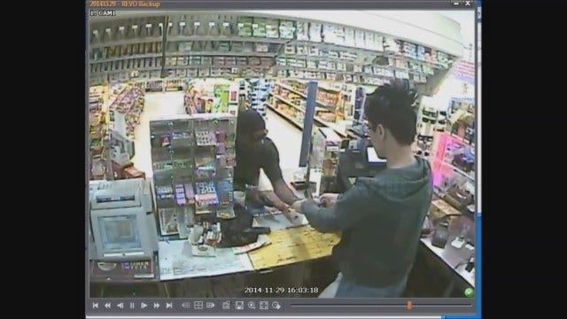 OKC Police Seek Suspect In Armed Robbery Of Convenience Store