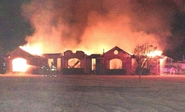 Piedmont Home Destroyed In Fire Early Wednesday Morning