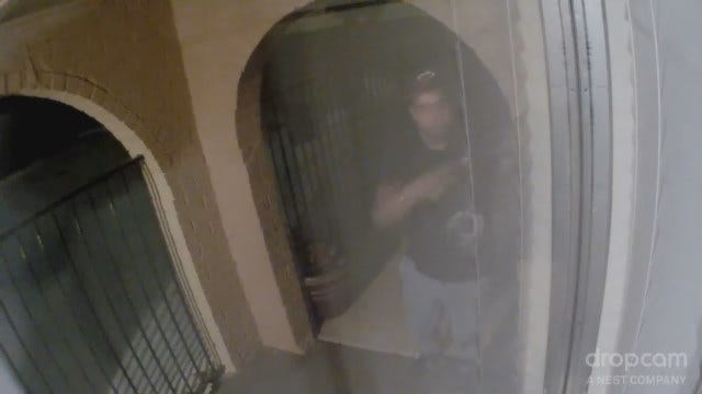 Suspect Wanted In Del City Mailbox Theft