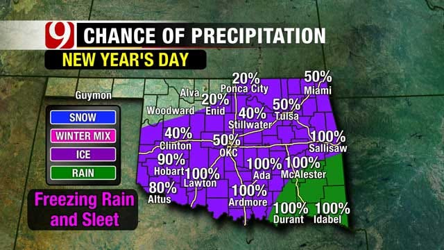 Bone-Chilling Temperatures On Tap For Oklahoma Ahead Of Wintry Weekend
