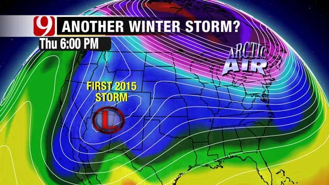 Latest Update On New Year's Day Winter Storm In Oklahoma