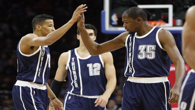 Thunder Sinks Suns In Durant's New-Years Return