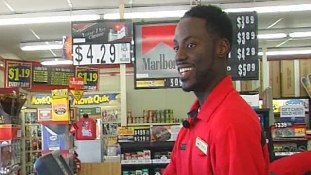 Red Dirt Diaries: Edmond Singing Store Clerk