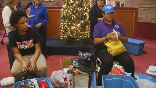 Youth Services For Oklahoma County Holds Christmas Party
